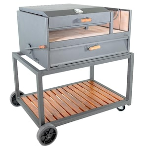 Nuke Delta 40-Inch Argentinian-Style Gaucho Grill - DELTA02 image