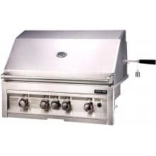Sunstone 34-Inch 4-Burner Built-In Propane Gas Grill With Rotisserie - SUN4B-IR-LP image
