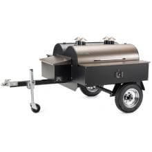 Traeger Mobile Commercial Trailer Smokehouse image
