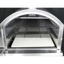 HomComfort Stainless Steel Outdoor Pizza Oven On Cart - Propane - HCP16SS HomeComfort Stainless Steel Outdoor Pizza Oven On Cart - Propane - HCP16SS - Oven