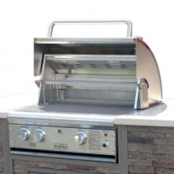 ProFire Professional Deluxe Series 27-Inch Built-In Natural Gas Grill With Rotisserie - PFDLX27R-N image