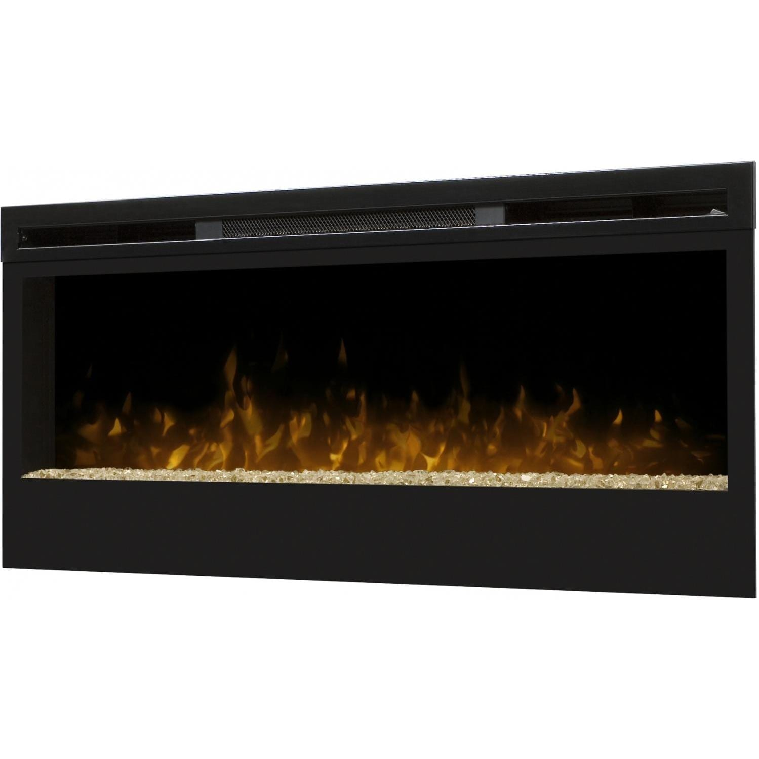 Dimplex Synergy 50 Inch Wall Mount Electric Fireplace Black Blf50 Gas Log