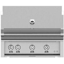 Hestan 36-Inch Stainless Steel Built-In Propane Gas Grill With Sear Burner And Rotisserie - GMBR36-LP-SS Hestan 36-Inch Built-In Gas Grill With Sear Burner And Rotisserie