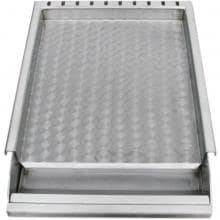 Sunstone 13-Inch Stainless Steel Griddle With Removable Tray - SUNGD13