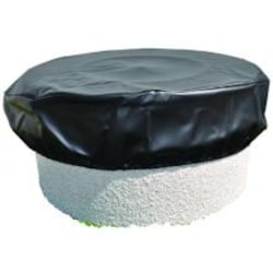 HPC 53-Inch Vinyl Fire Pit Cover image