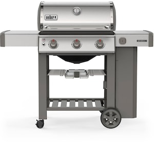 Weber Genesis II S-310 Propane Gas Grill - Stainless Steel - 61001001 image