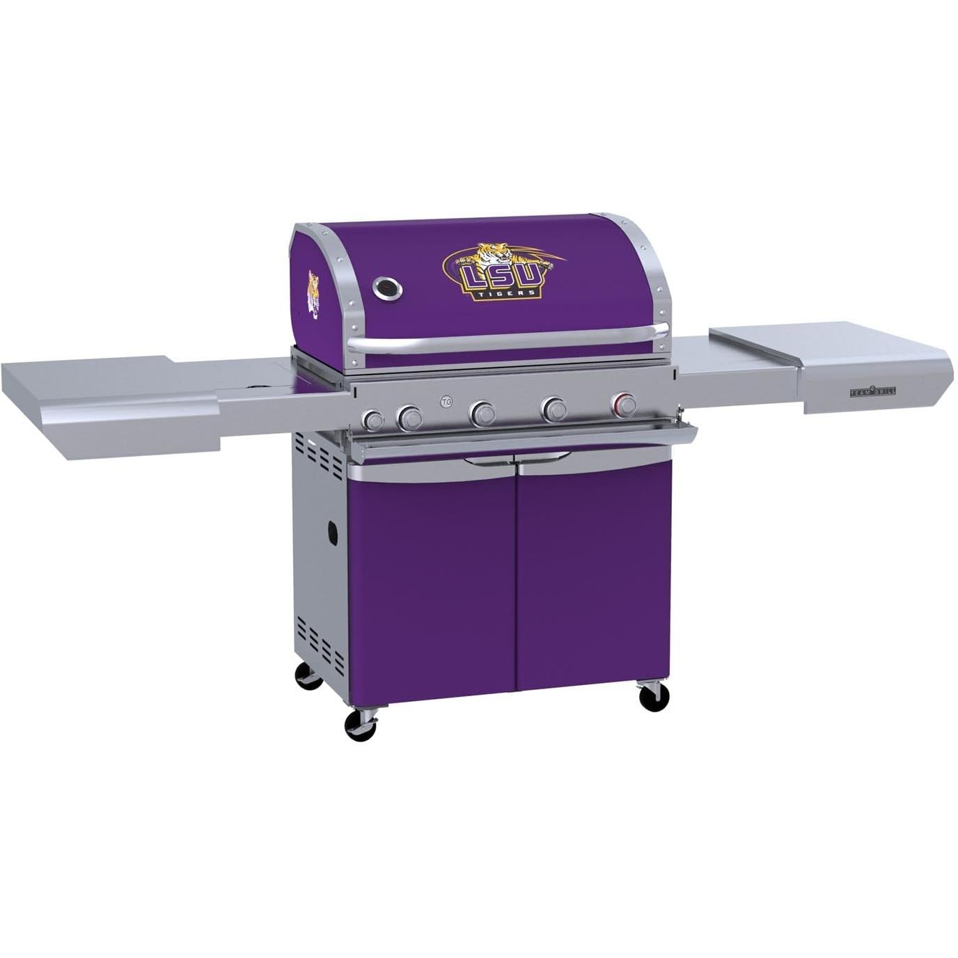 team grill lsu tigers mvp propane gas grill bbq guys. Black Bedroom Furniture Sets. Home Design Ideas