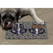 DryMate Small Pet Bowl Place Mat - Grey