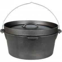 Cajun Classic 9-Quart Seasoned Cast Iron Camp Pot - GL10475S image
