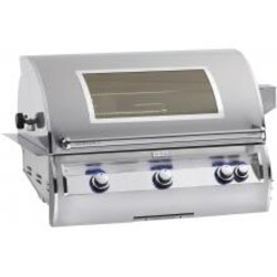 Fire Magic Echelon Diamond E790i 36-Inch Built-In Propane Gas Grill With Analog Thermometer And Magic View Window - E790i-4EAP-W image