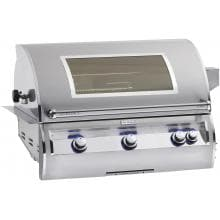 Fire Magic Echelon Diamond E790i 36-Inch Built-In Propane Gas Grill With One Infrared Burner, Analog Thermometer And Magic View Window - E790i-4LAP-W Fire Magic Echelon Diamond E790i Natural Gas Grill With Window