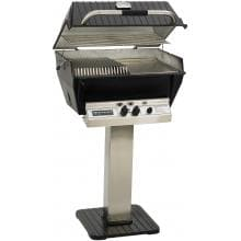 Broilmaster P3-SXN Super Premium Natural Gas Grill On Stainless Steel Patio Post image