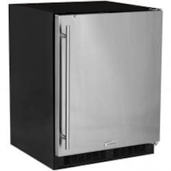 Marvel 24-Inch Right Hinge Compact Refrigerator / Ice Maker - Stainless Steel - ML24RIS4RS image