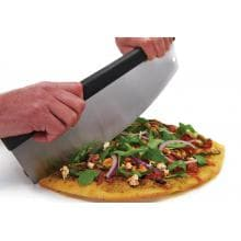 Broil King 15-Inch Stainless Steel Rocking Mezzaluna Pizza Cutter Broil King 15-Inch Stainless Steel Rocking Mezzaluna Pizza Cutter