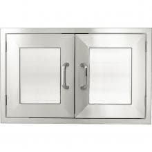 BBQGuys.com Kingston Panel Series 48-Inch Stainless Steel Double Access Door image