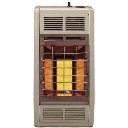 Empire 6 000 btu vent free infrared manual propane heater for Best propane heating systems
