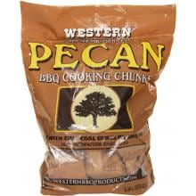 Western Pecan BBQ Cooking Chunks (1/3 Cu. Ft.) Western Pecan BBQ Cooking Chunks-Bag View