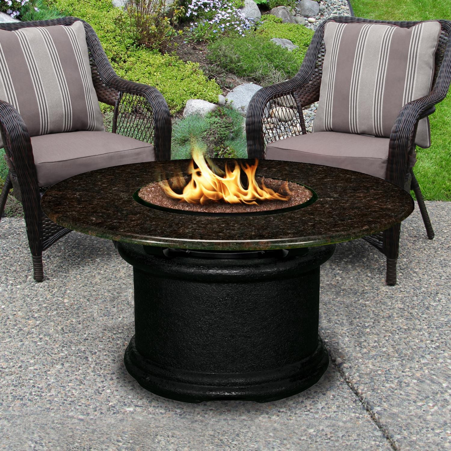Del Mar 48 Inch Propane Fire Pit Table By California