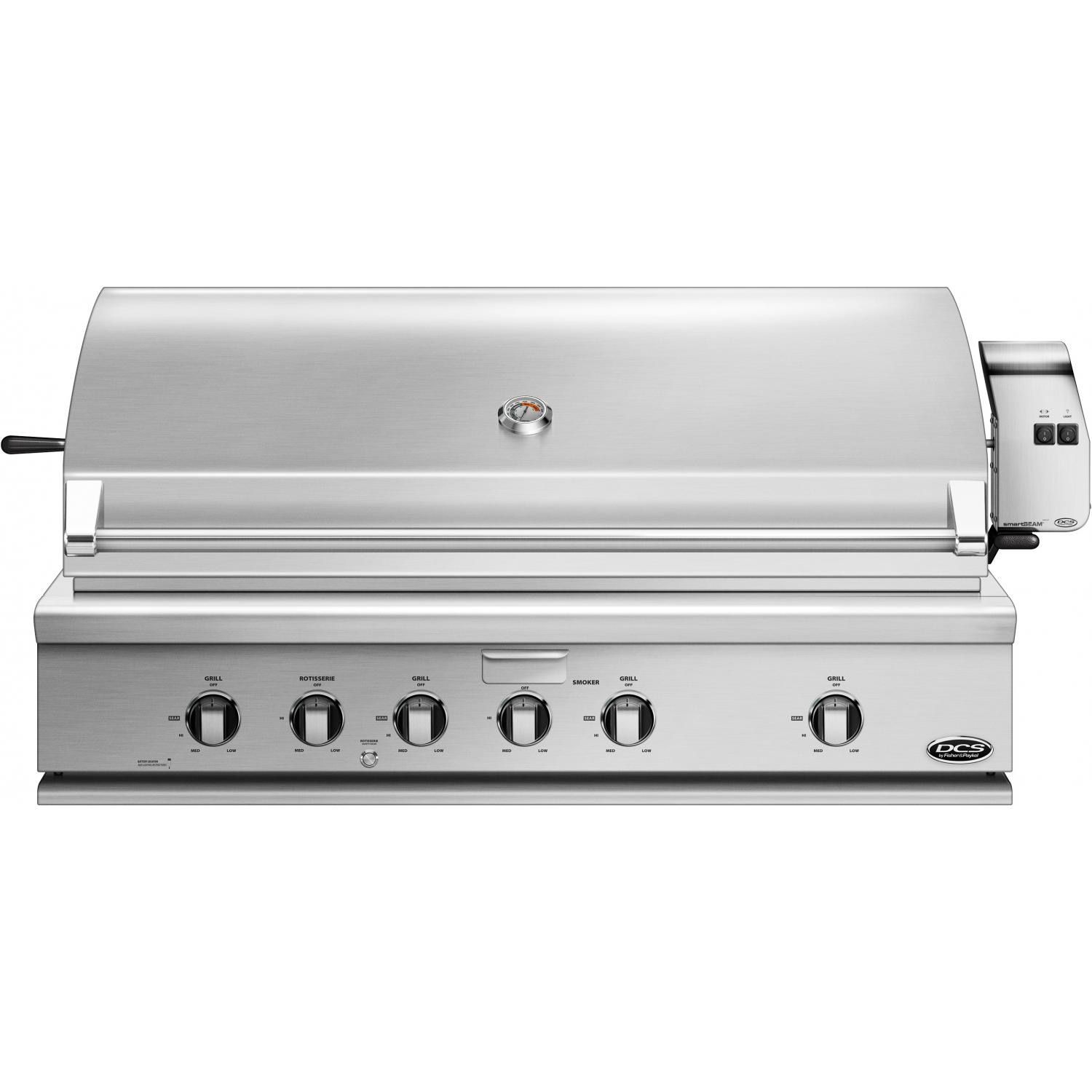DCS Professional 48-Inch Built-In Propane Gas Grill With ...
