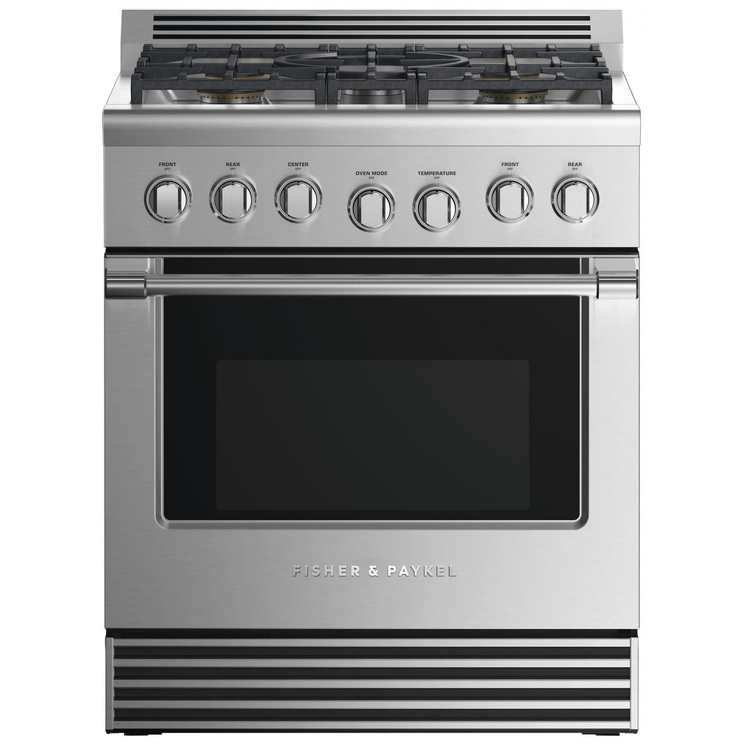 Fisher Paykel Professional Formerly Dcs 30 Inch 5 Burner Natural Gas Range Rgv2 305n N Bbqguys