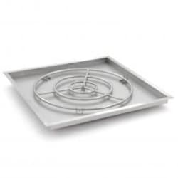 Alpine Flame 36-Inch Square Drop-In Pan With 30-Inch Natural Gas Ring Burner image