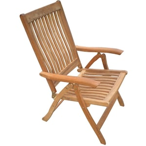 Estate Teak Patio Dining  Arm Chair By Royal Teak Collection image