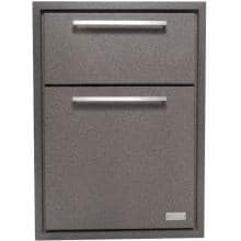Sunset Bay Outdoor 17-Inch Powder Coated Aluminum Double Enclosed Drawer - Brown Speckle - DDR.17 image