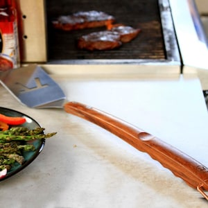 Rosewood 21-Inch Stainless Steel BBQ Spatula image