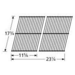Porcelain Coated Steel Wire Rectangle Cooking Grid 52802 image