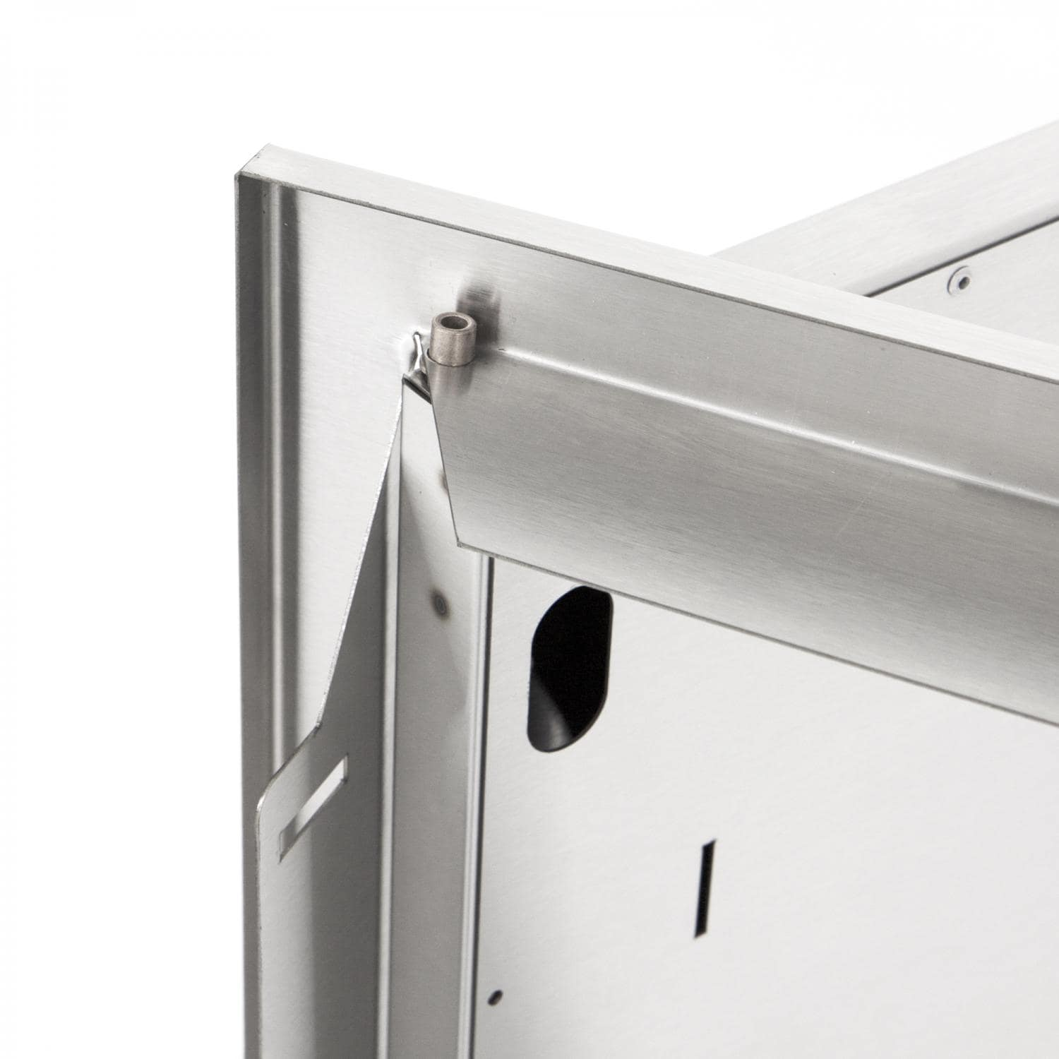 Sonoma series 36 inch stainless steel double for Door 9 sonoma