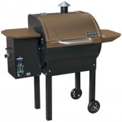 Camp Chef SmokePro DLX Wood Pellet Grill - Bronze - PG24B image