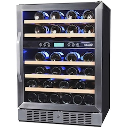 NewAir 46 Bottle Built-in Dual Zone Wine Cooler - AWR-460DB