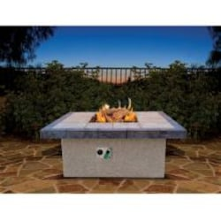 Cal Flame 48-Inch Propane Gas Fire Pit Table - Square - Coffee Height image