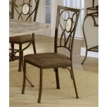 Hillsdale Brookside Oval Fossil Back Dining Chairs - Set Of 2 - Brown - 4815-802