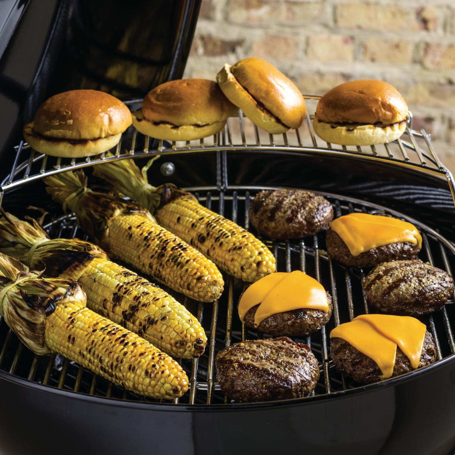 weber master touch 22 inch charcoal grill with gourmet bbq system cooking grate black bbq guys. Black Bedroom Furniture Sets. Home Design Ideas