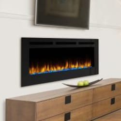 SimpliFire Allusion 60-Inch Wall Mount Electric Fireplace - SF-ALL60-BK image