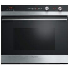 Fisher Paykel 30-Inch Built-In Electric Single 9-Function Wall Oven - Stainless Steel W/ Black Glass - OB30SCEPX3 image