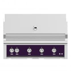 Hestan 42-Inch Built-In Propane Gas Grill W/ All Infrared Burners & Rotisserie - Lush - GSBR42-LP-PP image