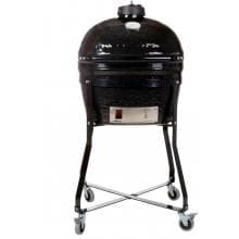 Primo Ceramic Smoker Grill On Cradle - Oval Junior