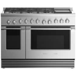 Fisher Paykel Professional (Formerly DCS) 48-Inch 6-Burner Natural Gas Range With Griddle - RGV2-486GDN N image