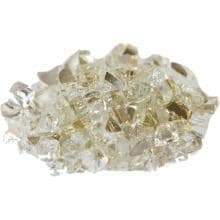 Alpine Flame 1/4-Inch Gold Reflective Fire Glass - 10 Lbs