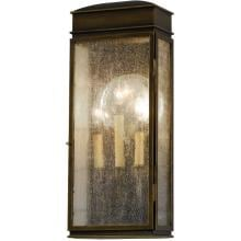 Feiss Whitaker OL7402ASTB 100W 22-Inch Three Light Outdoor Wall Lantern - Astral Bronze