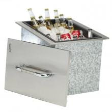 Bull 16-Inch Stainless Steel Built-In Outdoor Ice Chest - 00002 image