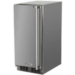 Marvel 12 Lb. 15-Inch Left Hinge Outdoor Rated Ice Maker - 25OIM-SS-F-L image