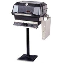 MHP Gas Grills JNR4DD Natural Gas Grill W/ SearMagic Grids On Bolt Down Post