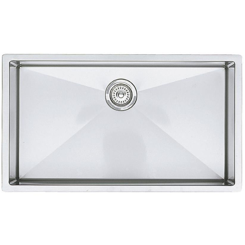 Blanco Precision Super 32 X 18 18-Gauge Single Bowl Stainless Steel Undermount Sink - 515823