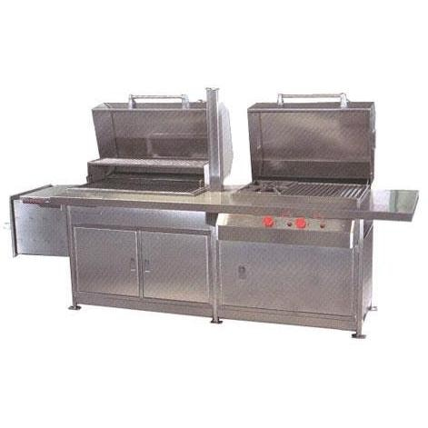 Texas Barbecues 700s Hybrid Grill W/ Enclosed Base LP