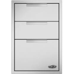DCS 20-Inch Triple Tower Drawer With Soft Close - TDT1-20 image