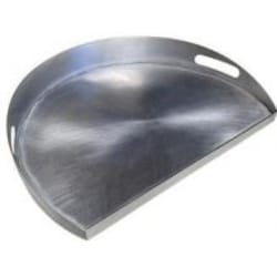 Caliber Pro Stainless Steel Griddle - 3/4 Size image