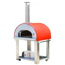 Bella Grande C36 36-Inch Wood Fired Outdoor Pizza Oven On Cart